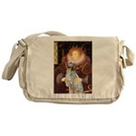 Queen / English Setter Messenger Bag