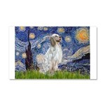 English Setter / Starry Night Car Magnet 20 x 12