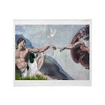 Creation / Eng Springer Throw Blanket