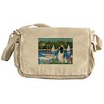 Sailboats / Eng Springer Messenger Bag