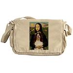Mona/ English Springer Messenger Bag