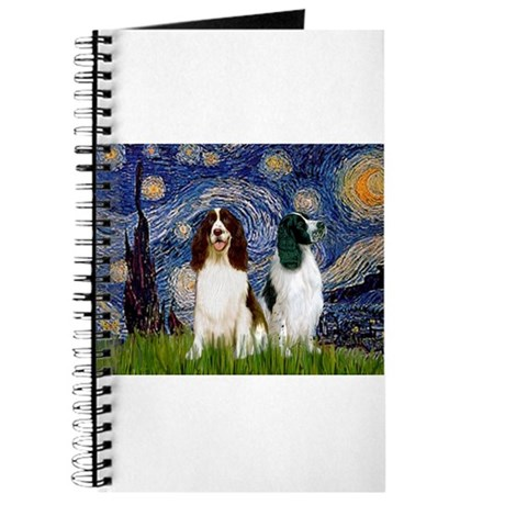 Starry / 2 Eng Springe Journal