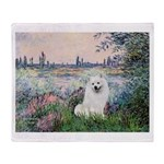 Seine / Eskimo Spitz #1 Throw Blanket