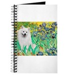 Irises / Eskimo Spitz #1 Journal