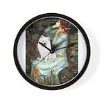 Ophelia / Eskimo Spitz #1 Wall Clock
