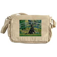Flat Coated Retriever 2 Messenger Bag