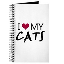 'I Love My Cats' Journal