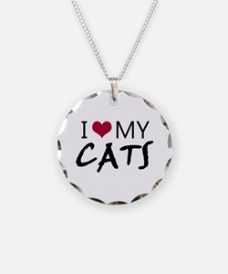 'I Love My Cats' Necklace