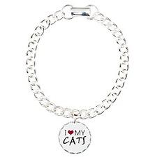 'I Love My Cats' Bracelet