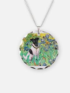 Irises / T (#1) Necklace