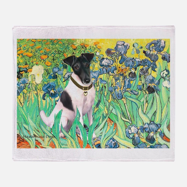 Irises / T (#1) Throw Blanket