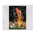 Fairies / Smooth T (#1) Throw Blanket