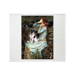 Ophelia / Fox T Throw Blanket