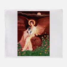 Angel / Smooth T (#1) Throw Blanket