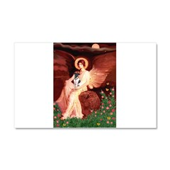 Angel / Smooth T (#1) Car Magnet 20 x 12