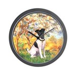 Spring / Fox T (1) Wall Clock