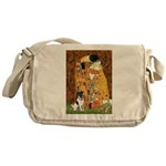 Kiss / Fox Terrier Messenger Bag