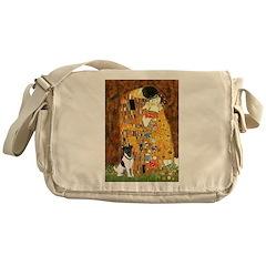 Kiss / Fox Terrier Messenger Bag