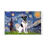 Starry / Fox Terrier (#1) 20x12 Wall Decal
