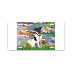 Lilies / Smooth T (#1) Aluminum License Plate