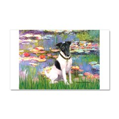 Lilies / Smooth T (#1) Car Magnet 20 x 12