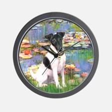 Lilies / Smooth T (#1) Wall Clock