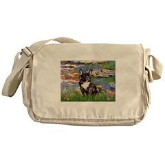 Lilies / FBD Messenger Bag