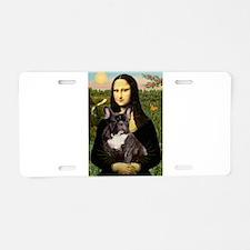 Mona / Fr Bulldog(brin) Aluminum License Plate