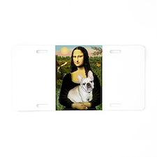 Mona / Fr Bulldog (f) Aluminum License Plate