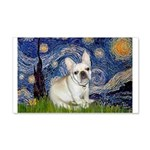 Starry / Fr Bulldog (f) 20x12 Wall Decal