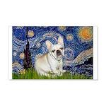 Starry / Fr Bulldog (f) 20x12 Wall Decal