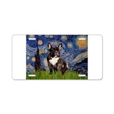 Starry / Fr Bulldog(brin) Aluminum License Plate