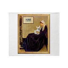 Whistlers / Fr Bull (f) Throw Blanket
