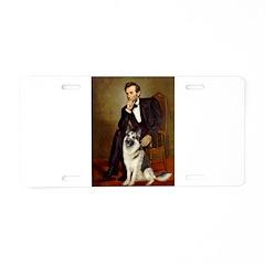 Lincoln's German Shepherd Aluminum License Plate