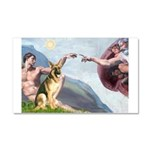 Creation / German Shepherd #2 Car Magnet 20 x 12