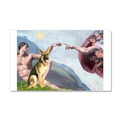 Creation / German Shepherd #2 Car Magnet 20 x 12