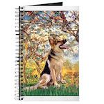 Spring & German Shepherd Journal