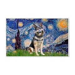Starry / German Shepherd 10 Wall Decal