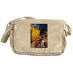 Cafe / G Shepherd Messenger Bag