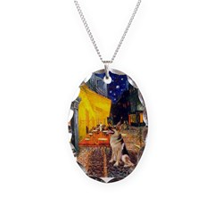 Cafe / G-Shephard Necklace Oval Charm