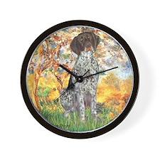 Spring / Ger SH Wall Clock