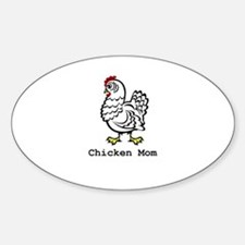 Chicken Mom Decal