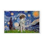 Starry Night /German Short 20x12 Wall Decal