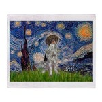 Starry Night /German Short Throw Blanket
