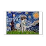 Starry Night /German Short Car Magnet 20 x 12