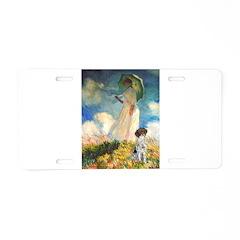 Umbrella / Ger SH Pointer Aluminum License Plate