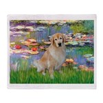 Lililes (#2)-Golden 10 Throw Blanket