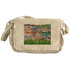 Lililes (#2)-Golden 10 Messenger Bag
