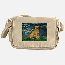 Lilies (#5) & Golden (1B) Messenger Bag