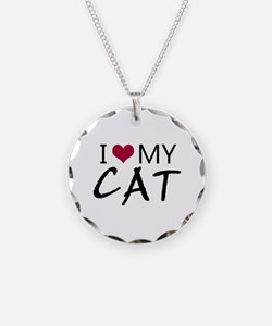 'I Love My Cat' Necklace